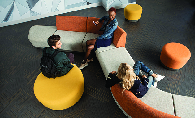 Sitonit Seating Ideon Pas 233 A Modular Seating Contract Design