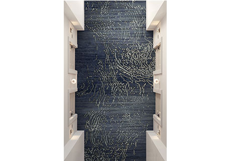 Durkan's Tanavad carpet collection captures the allure of city life at night. Woven into its intricate pattern, architectural elements and map outlines ...