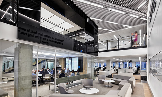 office interior magazine. Interiors Awards 2017: Office\u2013Large Office Interior Magazine S