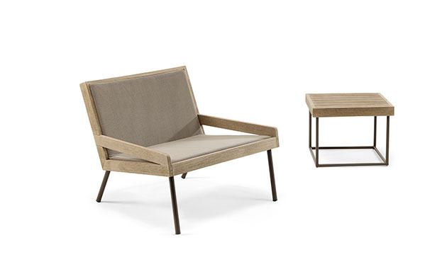 Presented in collaboration with Matteo Thun and Antonio Rodriguez, Ethimo's  Allaperto collection of outdoor furnishings encompasses four unique ... - Ethimo: Allaperto Contract Design