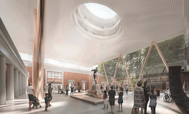 Foster Partners Wins Bid To Update Bilbao Fine Arts Museum Contract Design