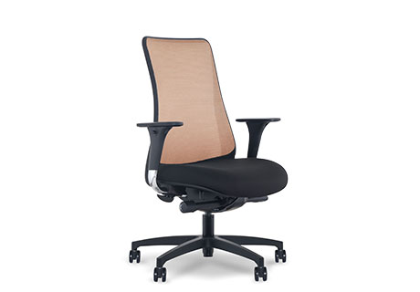 via office chairs. Designed Specifically For Clinical Areas, A New Task Chair From Via Seating Has An Elastic Four-way-stretch Copper Mesh Back That Utilizes Cupron Technology Office Chairs