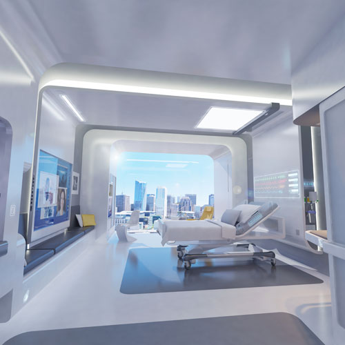 Interior Design Technology Remodelling: Back To The Future: Patient Room 2020 By Clemson