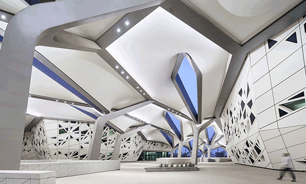 ZHA Designed Research Center Opens In Saudi Arabia