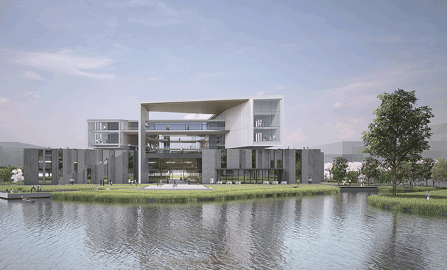 Winning Design Announced for Architecture School at Wenzhou-Kean University