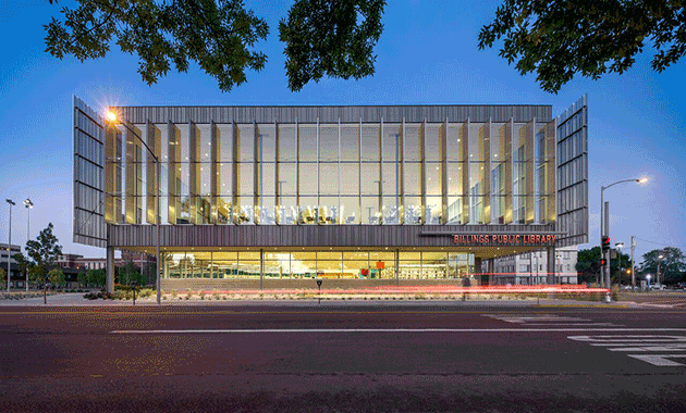 Seven libraries to receive the 2016 aia ala library for Modern library building design