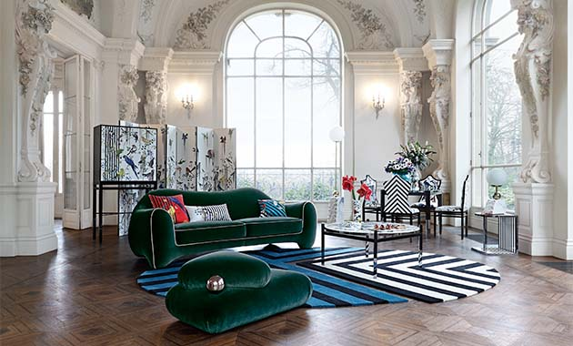 Roche Bobois Maison Christian Lacroix Contract Design
