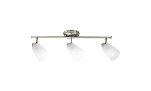 Progress Lighting Lucky Collection 4 Light Brushed Nickel: Progress Lighting: Wisten