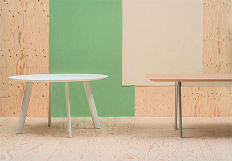 The Modular Radial Table Collection From Andreu World Can Be Used For  Desks, Shared Worktables, Or Conference Tables. Radial Features An  Integrated Cable ...