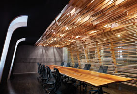 red bull office. Good Energy: Red Bull Canada Office Expansion, Toronto, By Johnson Chou Inc