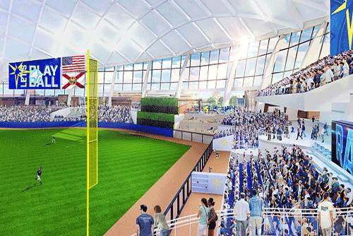 Populous Reveals First Look at Tampa Bay Rays Future ...