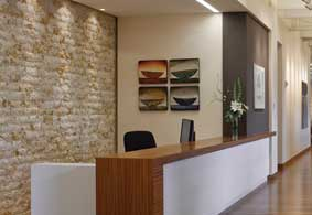 social verdict yost grube hall architects revamps traditional law office design at ater wynne - Law Office Design Ideas