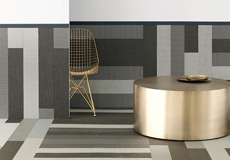 Chilewich Woven Plank Plynyl Tiles Contract Design
