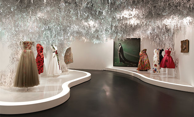 Christian Dior Retrospective On View In Paris