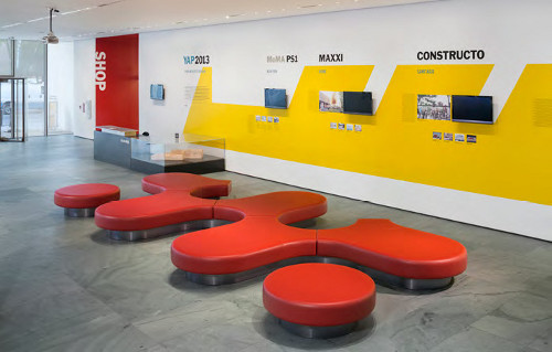 MoMA Commissions Richard Shemtov For Lobby Seating