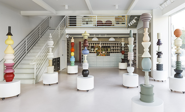 The New Farrow Ball Flagship Store Completely Rethinks How
