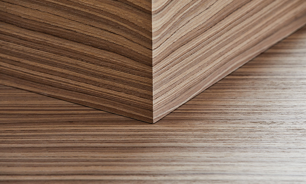 Treefrog Wood Veneer Contract Design