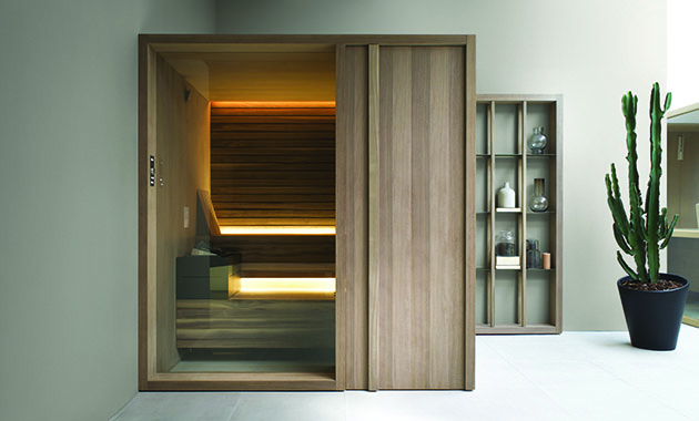 Effegibi Yoku Sauna Contract Design