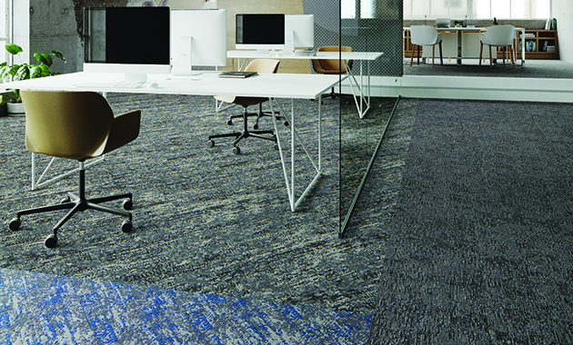 Mannington Commercial Spin Collection Contract Design