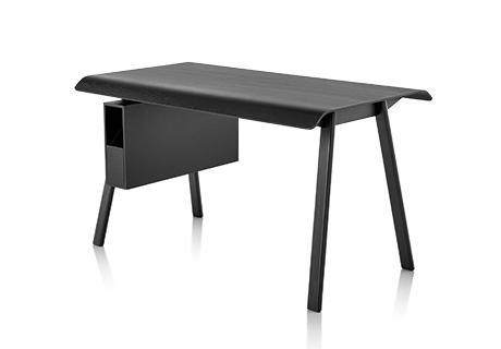 Todd Bracher Designed Distil To Function As A Desk Or Flexible Worktable  With A Molded Plywood Top And Solid Wood Legs. Distil Is Offered With A  Detachable, ...