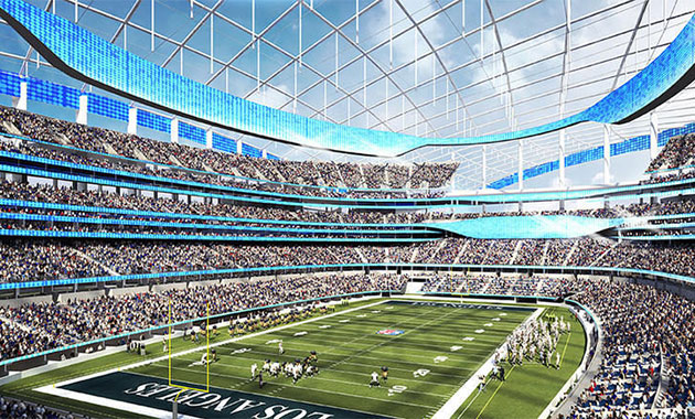HKS to Design Los Angeles Football Stadium for the Rams ...