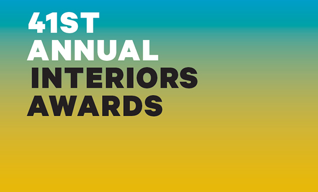 f2bf2742c Entries are now being accepted to the 41st Annual Interiors Awards. Submit  your work here.