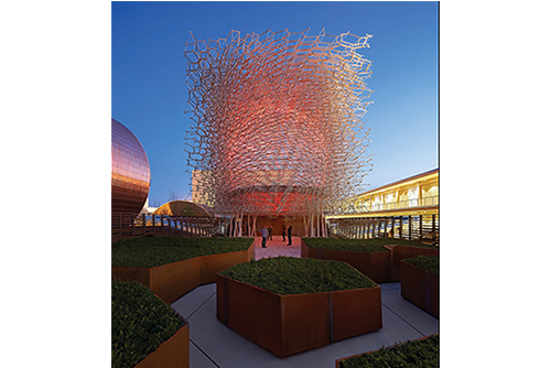 UK Pavilion At Milan Expo Lighting Design Winner Photo By Hufton Crow Other Winners Of The 2015 FX International Interior Awards