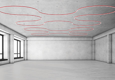 Architectural Lighting Works Moonring Contract Design