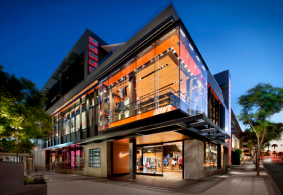Shrine To Fitness Nike Fieldhouse Store Santa Monica Designed By TVA Architects And Retail Design