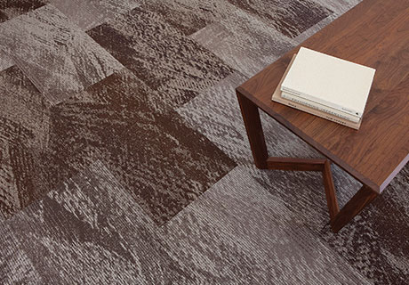 Modular Plank From J+J Flooring Groupu0027s Brand Invision. The Flowing Lines  And Strokes Produced By The Medium Are Echoed In ...