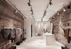 Nature Speaks Ruti Boutique San Francisco Designed by Nicole