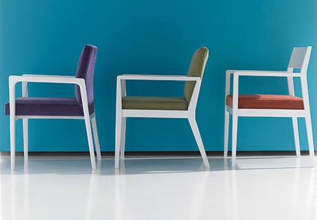 Superior Hayden, A Midcentury Inspired Guest Seating And Table Collection Designed  By Charlie Zagaroli For Studio Q, Features Three Guest Chair Designs And  Nine ...