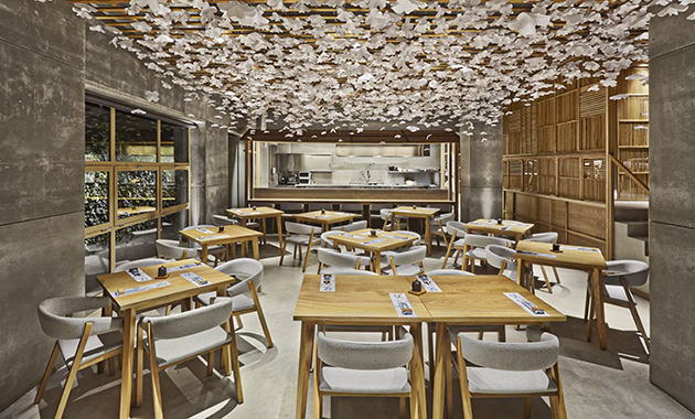 Sushi Bar Design nozomi sushi bar | contract design