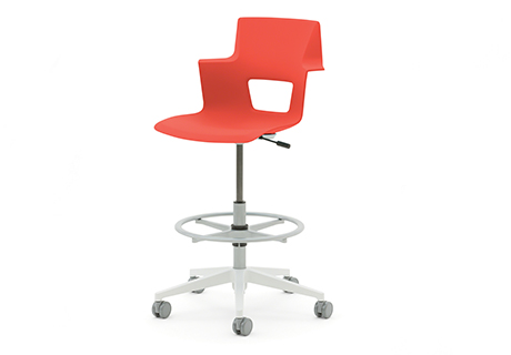 steelcase turnstone chair. The Shortcut Chair Provides A Short-term Seating Solution And Is Aimed At Mobile Workers. Polypropylene Cutout Seat With Nylon Base Comes Steelcase Turnstone