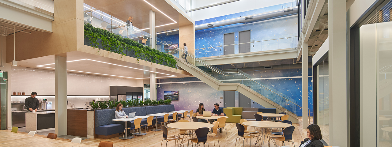VDT Renovates VMWareu0027s Campus Into A Collaborative Headquarters